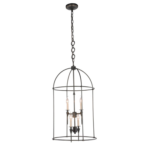 "Bavaria 20"" Diam Chandelier, Bronze Finish"