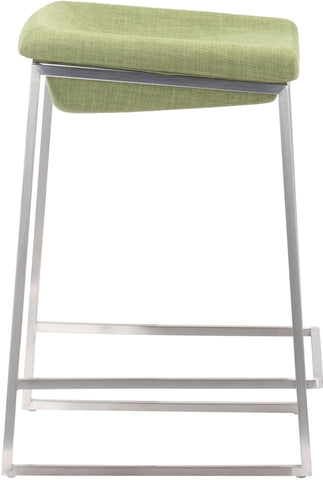 Lids Counter Stool Green (Set of 2)