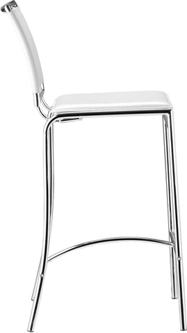 Soar Bar Chair White (Set of 2)