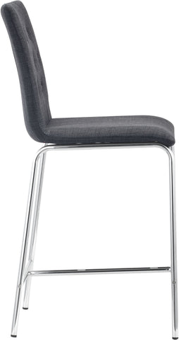 Uppsala Counter Chair Graphite (Set of 2)