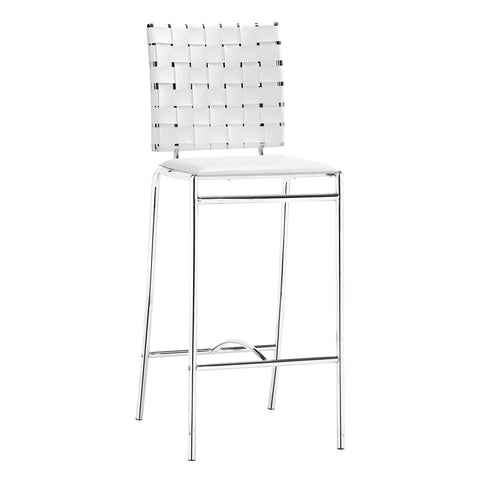Daniella Contemporary Height-Adjustable Barstool, Light Grey