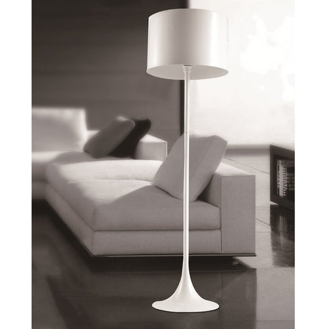 Tulip Floor Lamp, White