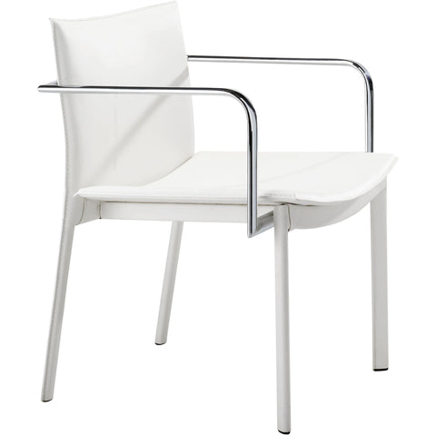 Gekko Conference Chair White (Set of 2)
