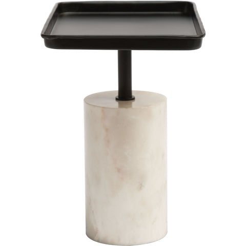 Dover Accent Table, Black & White