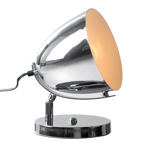 Jog Table Lamp Chrome