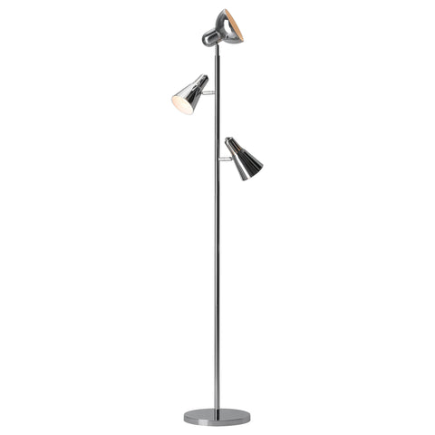 Shuttle Floor Lamp Chrome