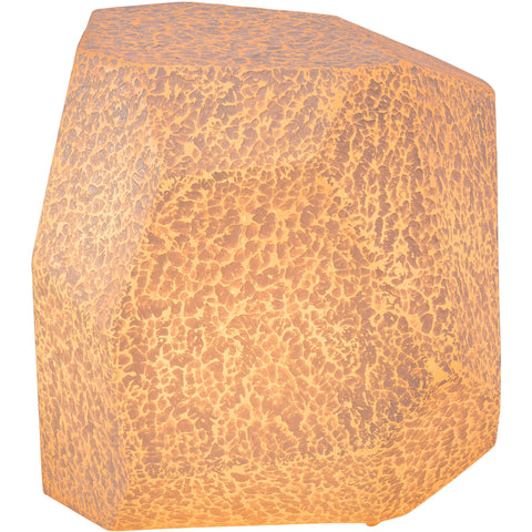 Fame Illuminated Outdoor Stool, White