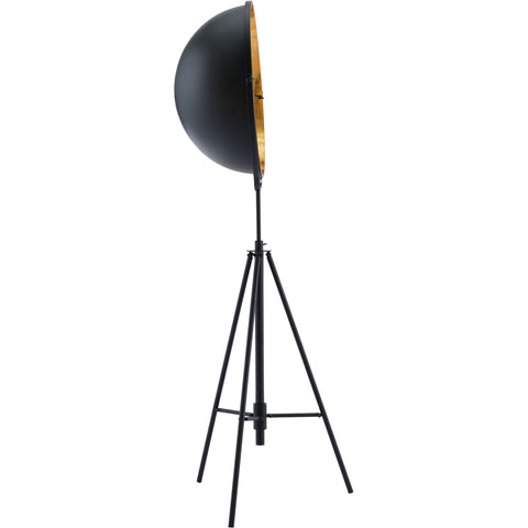Vauxhall Floor Lamp, Antique Black