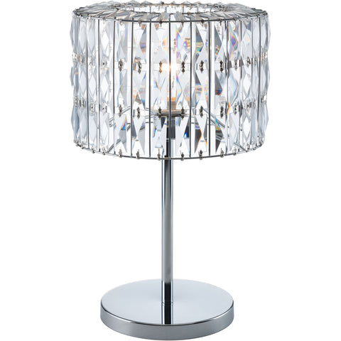 Jena Table Lamp, Chrome