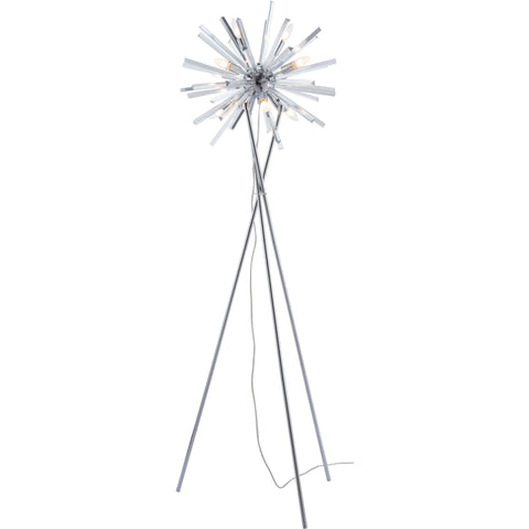 Savoy Floor Lamp, Chrome