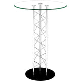 Chardonnay Bar Table Chrome