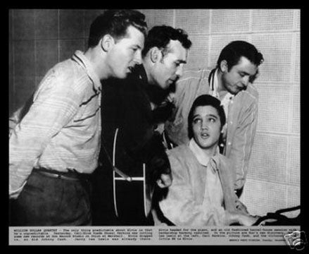 Million Dollar Quartet Celebrity Poster