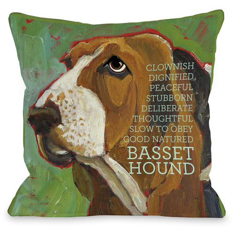 "Doe Indoor/Outdoor Pillow, 24"" x 11"""