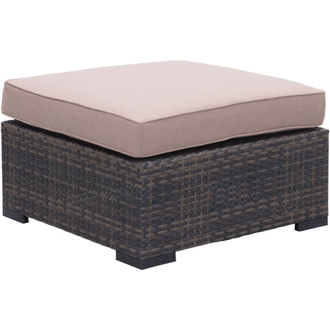 Bocagrande Outdoor Ottoman Brown