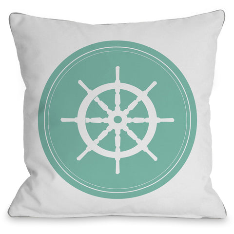 """Dot Wheel"" Indoor Throw Pillow by OneBellaCasa, 16""x16"""