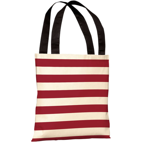 """Stars & Stripes"" Reversible 18""x18"" Tote Bag by OneBellaCasa"