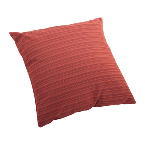 Doggy Small Outdoor Pillow Rust Red