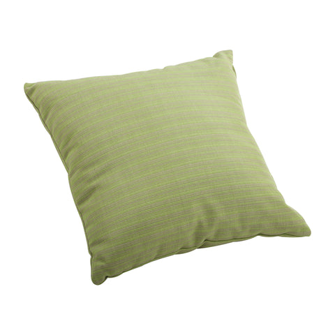 Cat Small Outdoor Pillow Apple Green Linen