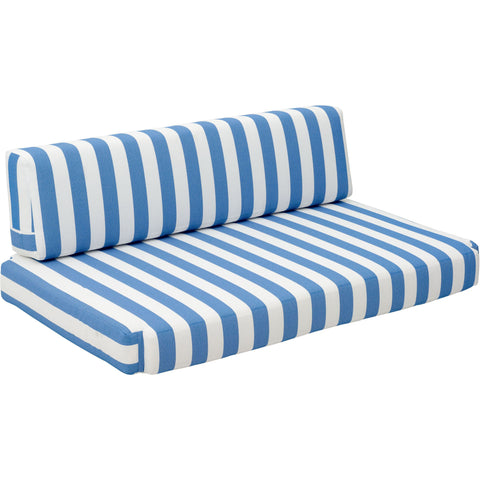 Bilander Outdoor Sofa Cushion Blue & White
