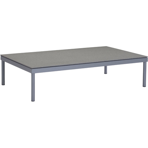 Sand Beach Outdoor Coffee Table, Gray & Granite