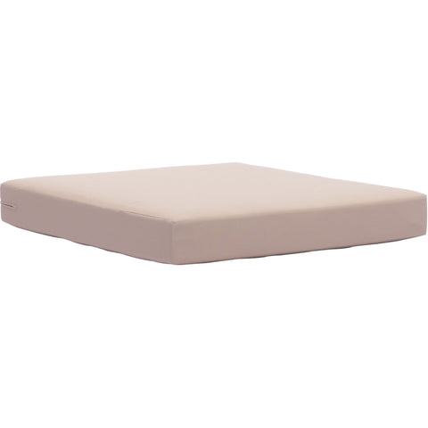 Glass Beach Outdoor Seat Cushion, Taupe