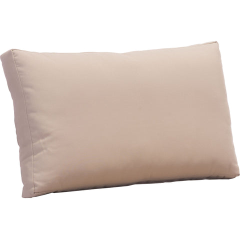 Glass Beach Outdoor Back Cushion, Taupe