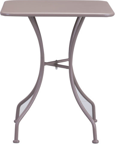 Oz Outdoor Dining Square Table Taupe