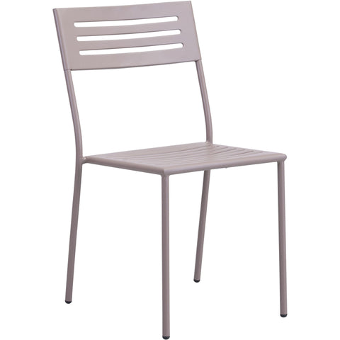 Wald Outdoor Dining Chair Taupe (Set of 2)