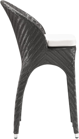 Corona Outdoor Bar Chair Espresso