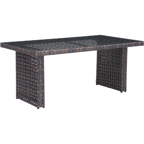Pinery Outdoor Dining Table, Brown