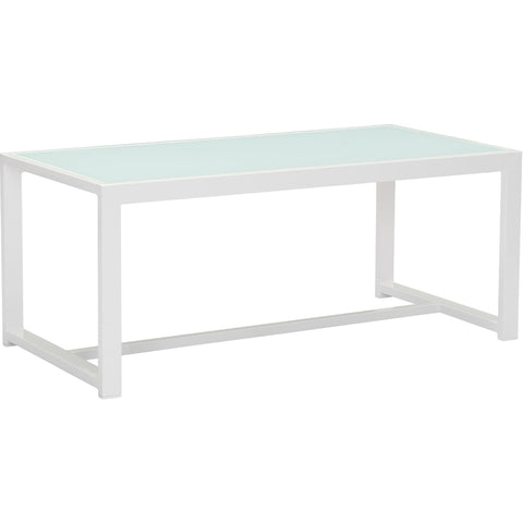 Golden Beach Outdoor Coffee Table, White