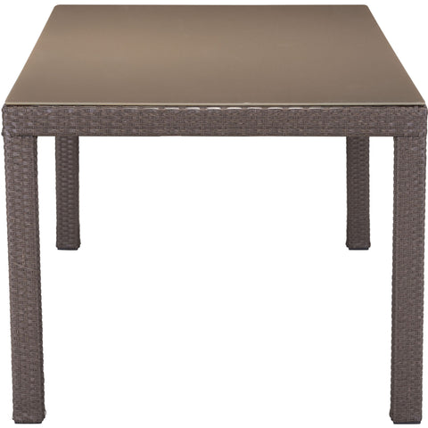 Coronado Outdoor Dining Table, Cocoa