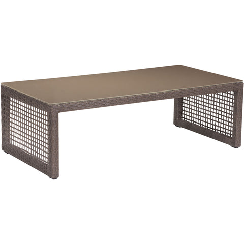 Coronado Outdoor Coffee Table, Cocoa