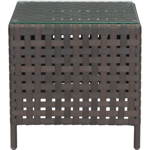 Pinery Side Table, Brown