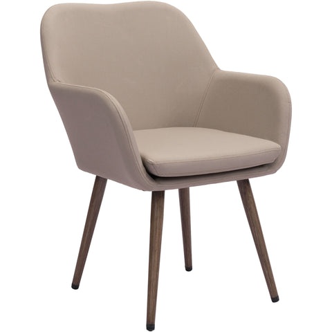 Pismo Outdoor Dining Chair, Taupe