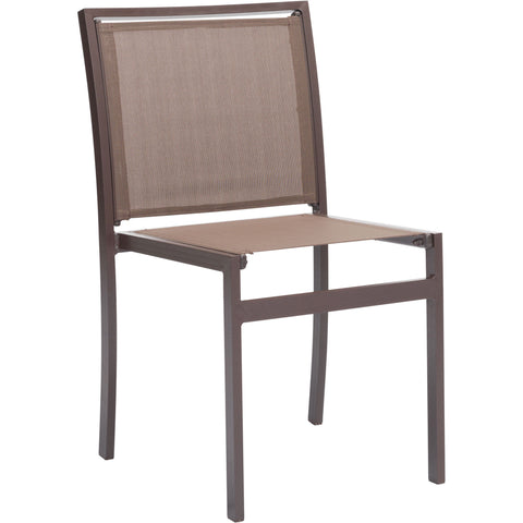 Mayakoba Outdoor Dining Chairs, Brown (Set of 2)
