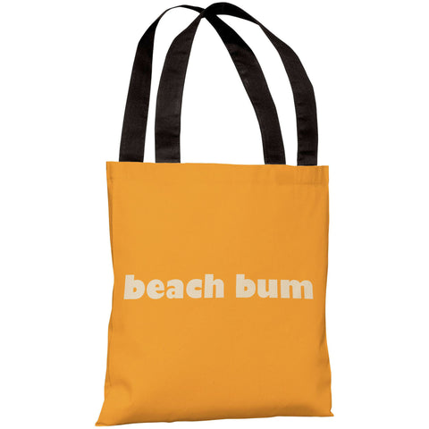 """Beach Bum"" 18""x18"" Tote Bag by OneBellaCasa"