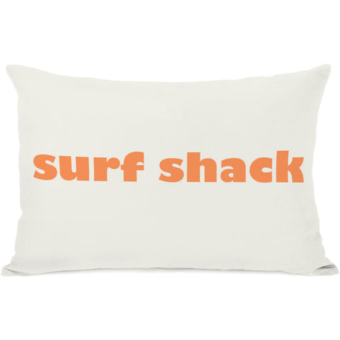 """Surf Shack"" Outdoor Throw Pillow by OneBellaCasa, 14""x20"""