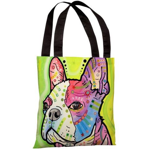 """Pride"" 18""x18"" Tote Bag by Dean Russo"