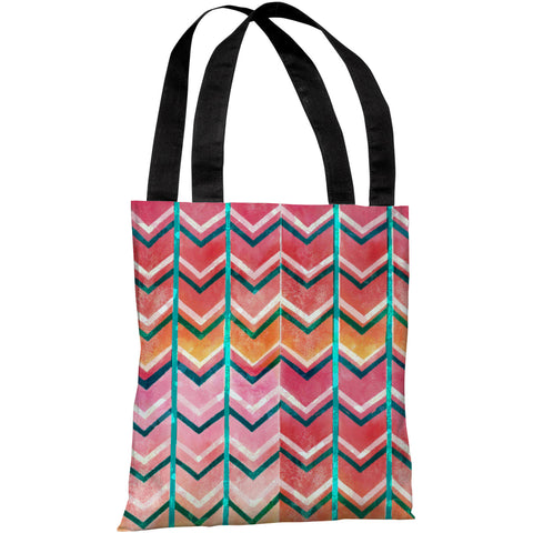 """Textured Ombre"" 18""x18"" Tote Bag by OneBellaCasa"