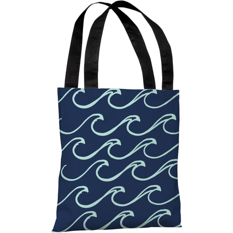 """Kayla Wave"" 18""x18"" Tote Bag by OneBellaCasa"