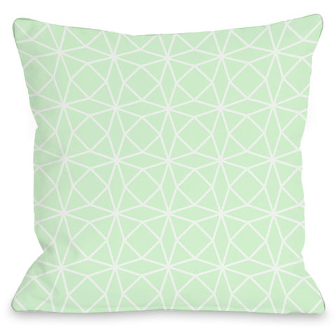 """Brianna Geo"" Outdoor Throw Pillow by OneBellaCasa, 16""x16"""
