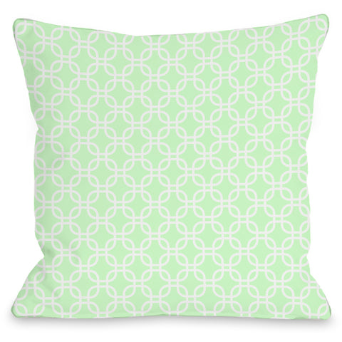 """Hisa"" Outdoor Throw Pillow by OneBellaCasa, 16""x16"""