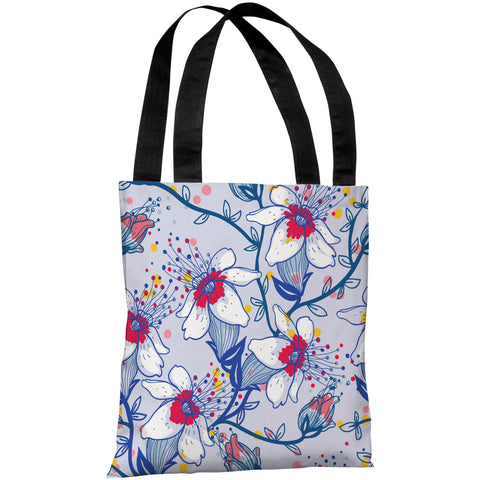 """Lovelilies"" 18""x18"" Tote Bag by OneBellaCasa"