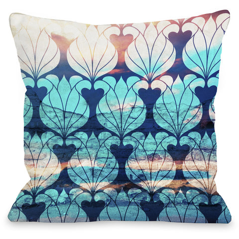 """Ventura"" Outdoor Throw Pillow by OneBellaCasa, 16""x16"""