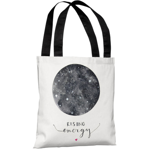 """Rising Energy"" 18""x18"" Tote Bag by Ana Victoria Calderon"