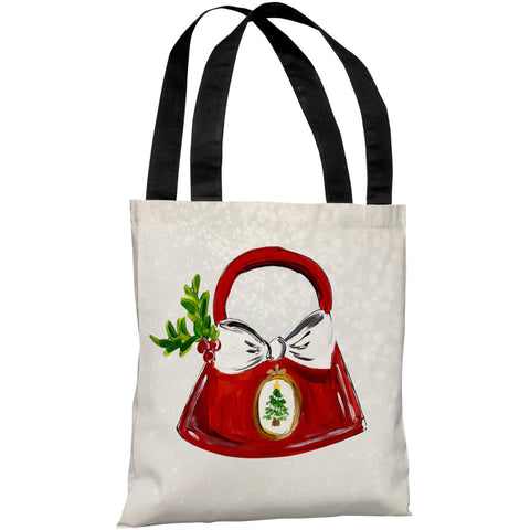 """Glitzmas Bag"" 18""x18"" Tote Bag by Timree Gold"