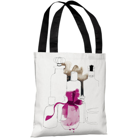 """Christmas Package"" 18""x18"" Tote Bag by Timree Gold"