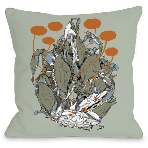"""Travel Things"" Indoor Throw Pillow by April Heather Art, 14""x20"""