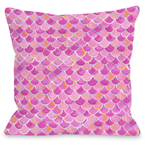 """Love From NYC Scalepattern"" Outdoor Throw Pillow by April Heather Art, 16""x16"""
